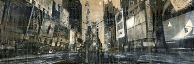 Times Square 1 art print by Dario Moschetta for $63.75 CAD