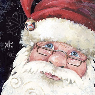 Santa Selfie art print by Anita Phillips for $56.25 CAD