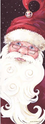 Santa Long art print by Anita Phillips for $38.75 CAD