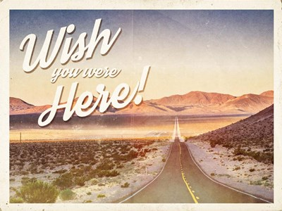 Wish You Were Here art print by Ashley Hutchins for $41.25 CAD
