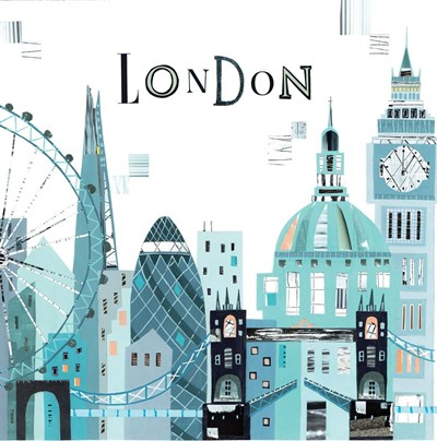 London City art print by A.V. Art for $48.75 CAD