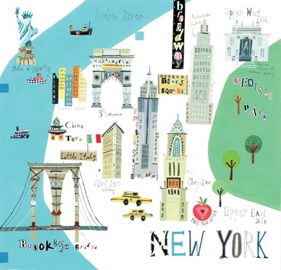 New York City art print by A.V. Art for $47.50 CAD