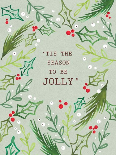 Jolly Season art print by A.V. Art for $41.25 CAD
