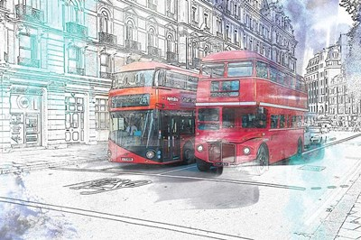 London art print by A.V. Art for $43.75 CAD