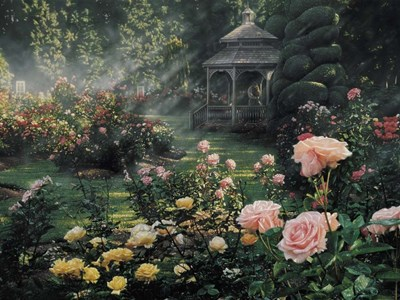 Rose Garden - Paradise Found art print by Collin Bogle for $41.25 CAD