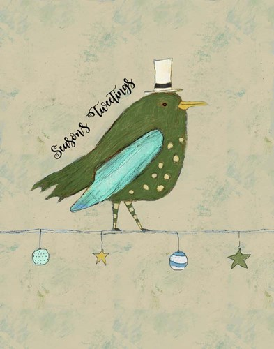 Season's Tweetings art print by Judi Bagnato for $36.25 CAD