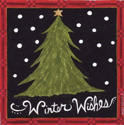 Winter Wishes art print by Cindy Shamp for $65.00 CAD