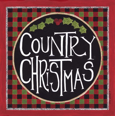 Country Christmas art print by Cindy Shamp for $63.75 CAD