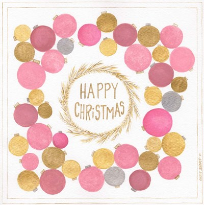 Happy Christmas art print by Cindy Shamp for $48.75 CAD