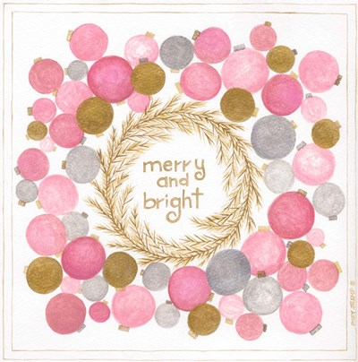 Merry and Bright art print by Cindy Shamp for $48.75 CAD