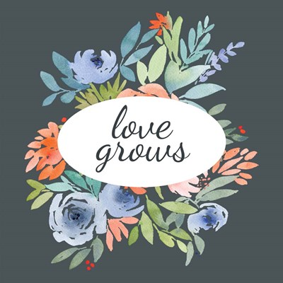 Love Grows art print by Elise Engh for $45.00 CAD