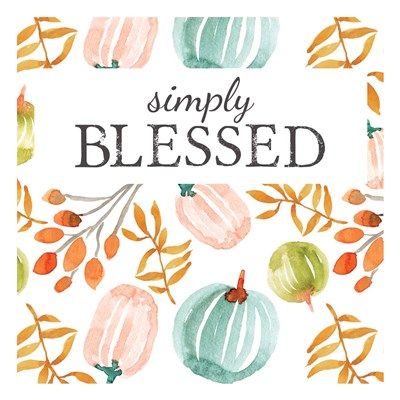 Simply Blessed II art print by Elise Engh for $45.00 CAD
