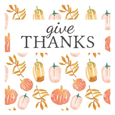 Give Thanks art print by Elise Engh for $45.00 CAD