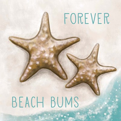 Forever Beach Bums art print by Elizabeth Tyndall for $63.75 CAD