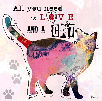 All You Need is Love art print by Michel Keck for $56.25 CAD