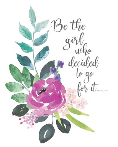 Go For It art print by Jo Moulton for $40.00 CAD