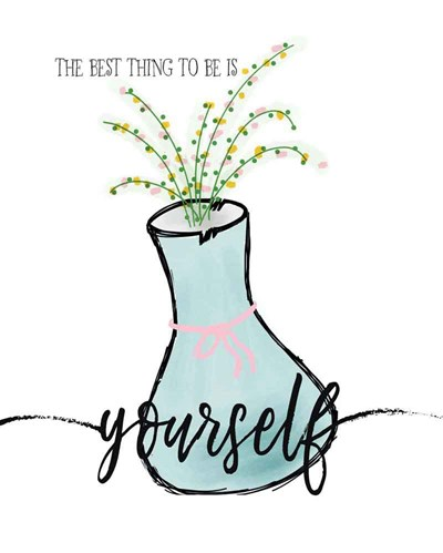 Yourself art print by Jo Moulton for $40.00 CAD