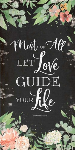 Let Love Guide Your Life art print by Jennifer Pugh for $52.50 CAD