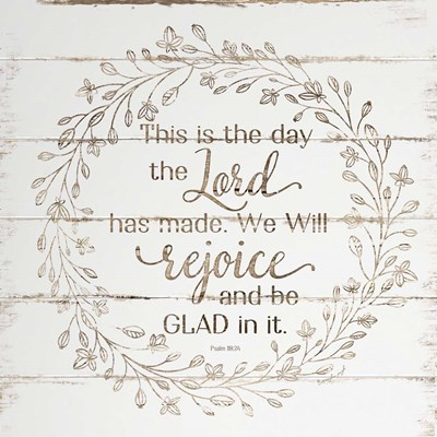 Rejoice and Be Glad In It art print by Jennifer Pugh for $56.25 CAD