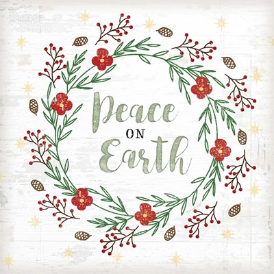 Peace on Earth art print by Jennifer Pugh for $56.25 CAD