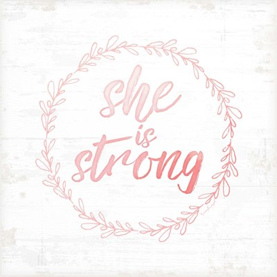 She is Strong art print by Jennifer Pugh for $56.25 CAD