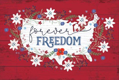 Forever Freedom art print by Jennifer Pugh for $43.75 CAD