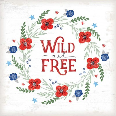 Wild and Free art print by Jennifer Pugh for $56.25 CAD