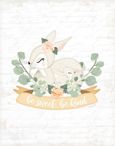 Sweet Little Bunny art print by Jennifer Pugh for $40.00 CAD