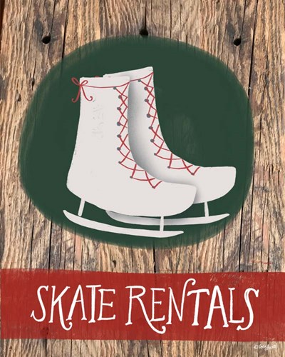 Skate Rentals art print by Katie Doucette for $40.00 CAD