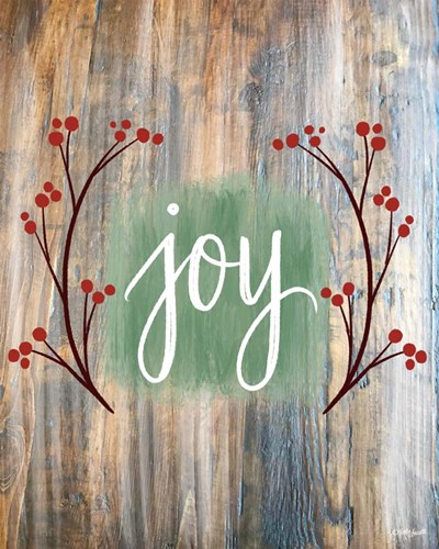 Christmas Joy art print by Katie Doucette for $40.00 CAD