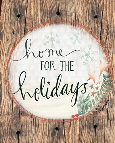 Home for the Holidays art print by Katie Doucette for $40.00 CAD