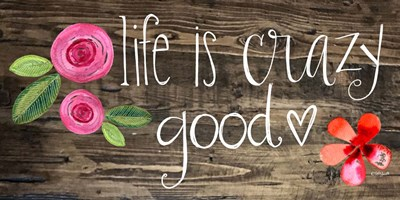 Crazy Good Life art print by Katie Doucette for $42.50 CAD