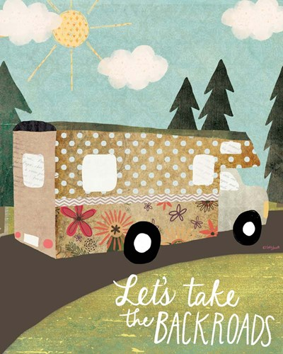 Backroads art print by Katie Doucette for $40.00 CAD