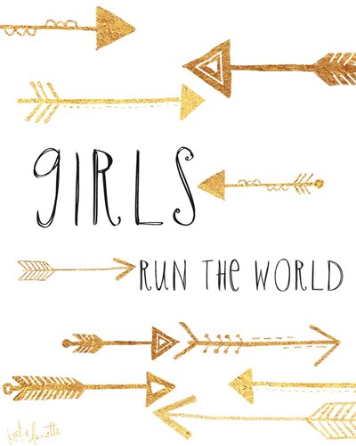 Girls Run the World art print by Katie Doucette for $40.00 CAD