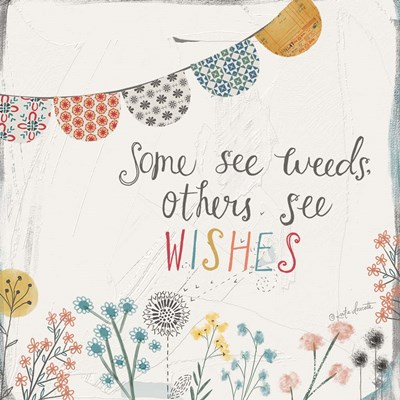 Weeds and Wishes art print by Katie Doucette for $48.75 CAD