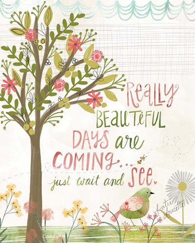 Really Beautiful Days art print by Katie Doucette for $40.00 CAD