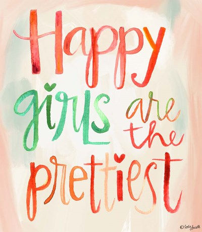 Happy Girls art print by Katie Doucette for $37.50 CAD