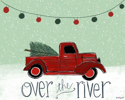 Over the River art print by Katie Doucette for $42.50 CAD
