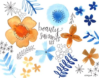 Beauty Surrounds Us art print by Katie Doucette for $42.50 CAD