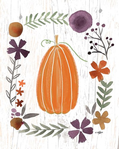 Autumn Pumpkin art print by Katie Doucette for $40.00 CAD