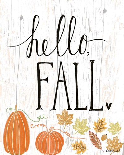 Hello Fall art print by Katie Doucette for $40.00 CAD