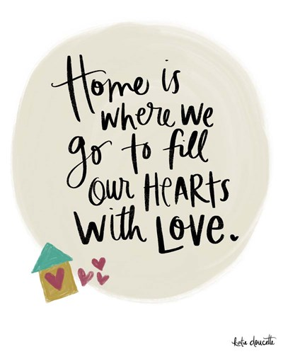 Home is Where We Go art print by Katie Doucette for $40.00 CAD