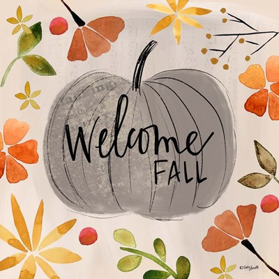 Welcome Fall art print by Katie Doucette for $48.75 CAD