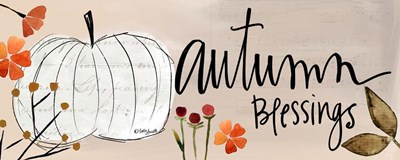 Autumn Blessings art print by Katie Doucette for $37.50 CAD