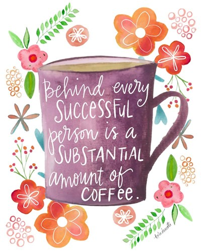 Coffee Success art print by Katie Doucette for $40.00 CAD
