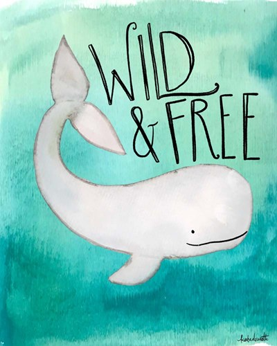 Wild Whale art print by Katie Doucette for $40.00 CAD