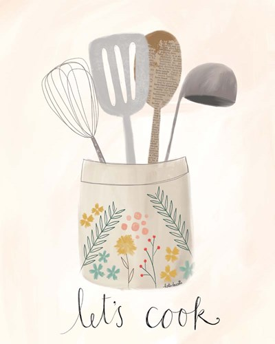 Let's Cook art print by Katie Doucette for $56.25 CAD