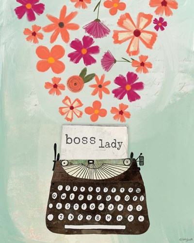 Boss Lady art print by Katie Doucette for $56.25 CAD