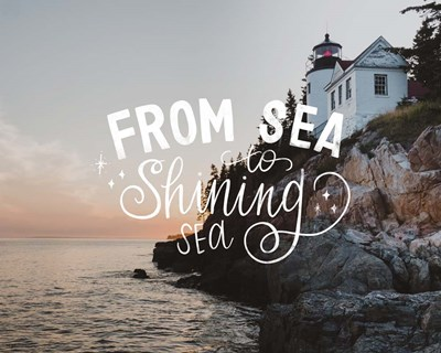 Sea to Shining Sea art print by Katie Doucette for $56.25 CAD