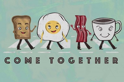 Come Together art print by Longfellow Designs for $43.75 CAD